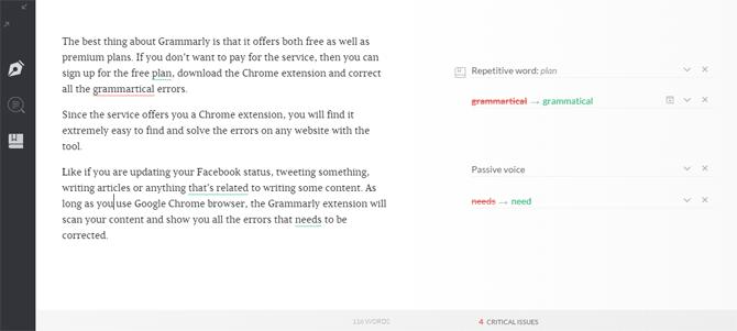 Grammarly Review [Updated] - Best Grammar Checker? 3