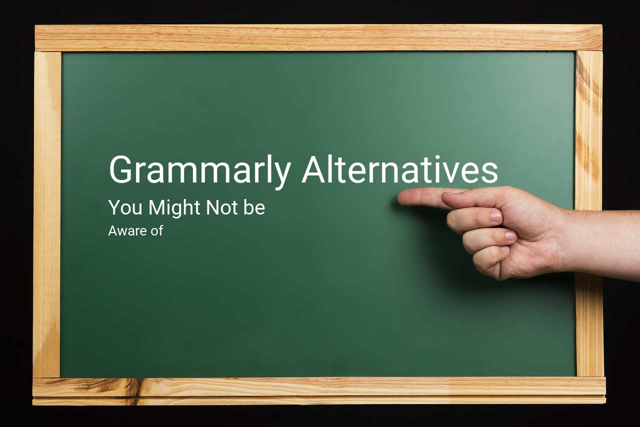 Grammarly alternatives to use